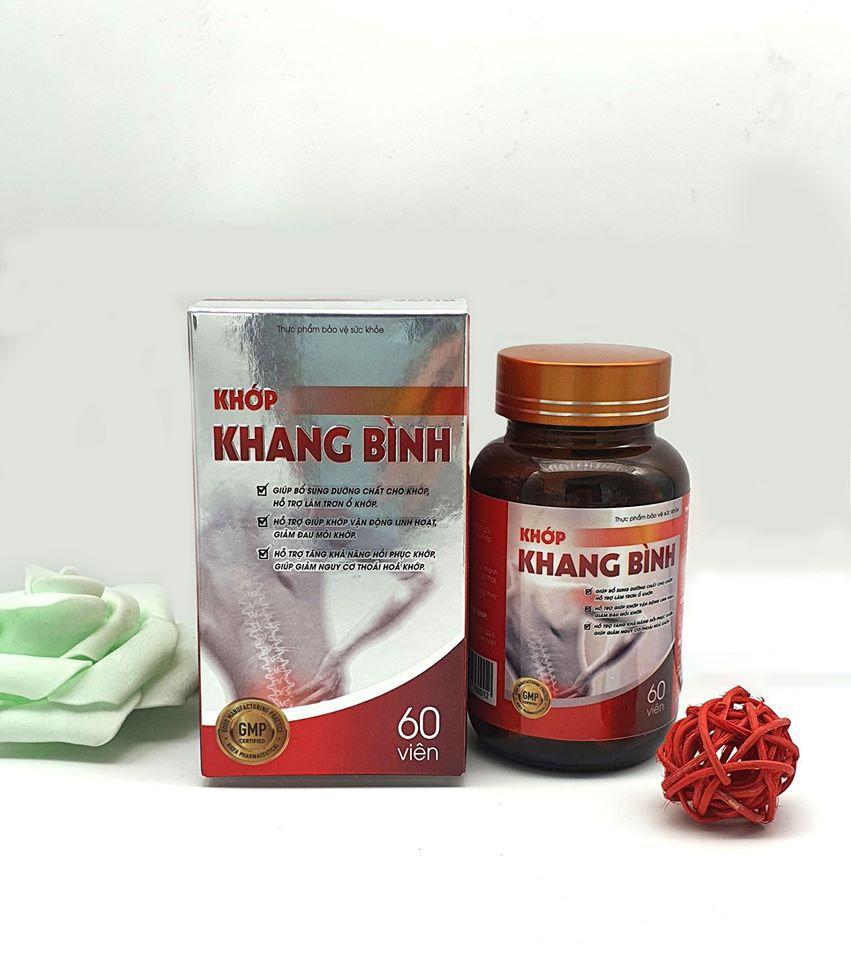 Sản phẩm Viên Khớp Khang Bình do  Công ty TNHH Thương Mại Minha công bố và chịu trách nhiệm.