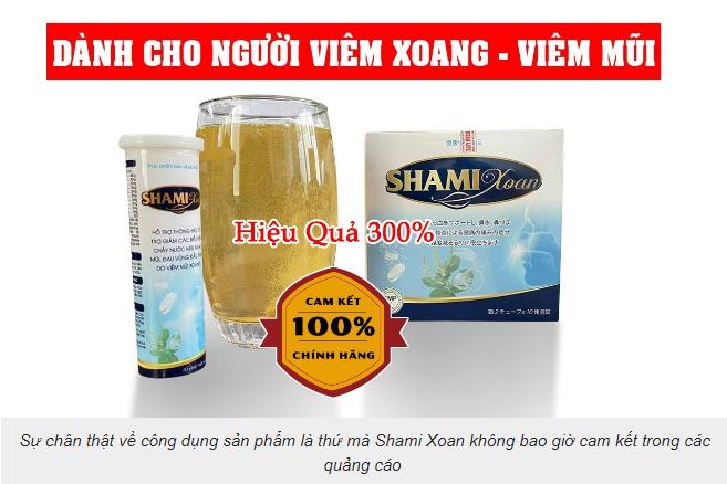 Sự chân thật về công dụng sản phẩm là thứ mà Shami Xoan không bao giờ cam kết trong các quảng cáo