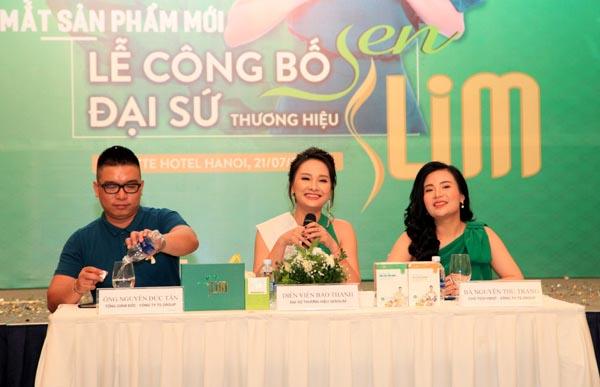 Đại sứ Thương hiệu Sen Slim – giảm cân an toàn, tăng cân tự nhiên  – Diễn viên Bảo Thanh (Ảnh: IT)