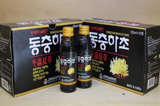 Nước đông trùng hạ thảo-Dongchoonghacho Drink