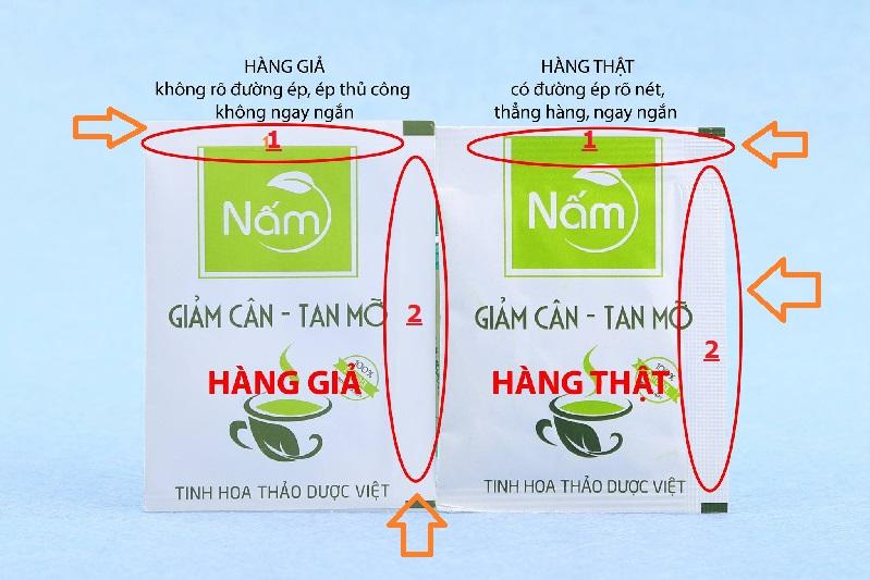Một số cách để người tiêu dùng có thể phân biệt sản phẩm hàng thật của thương hiệu Nấm