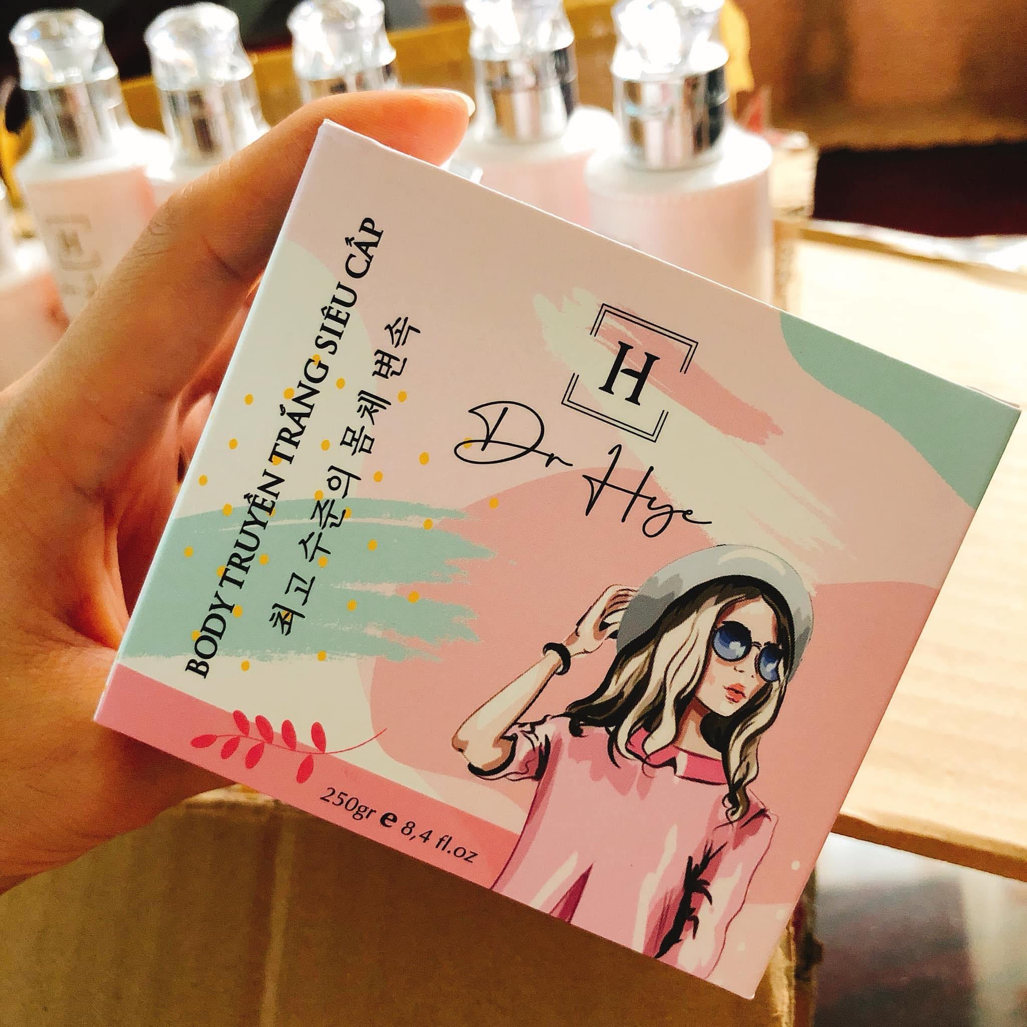 Đơn vị sản xuất Body truyền trắng siêu tốc Dr Hye có dấu hiệu lưu hành trái phép sản phẩm.