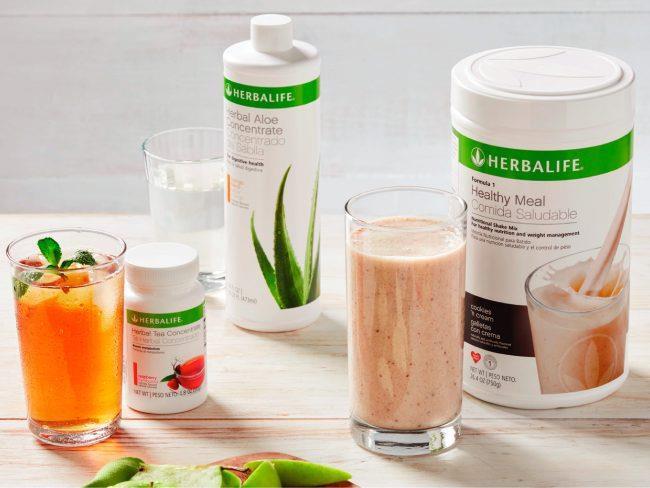 Các sản phẩm giảm cân của Herbalife. Ảnh: Iamherbalifenutrition.