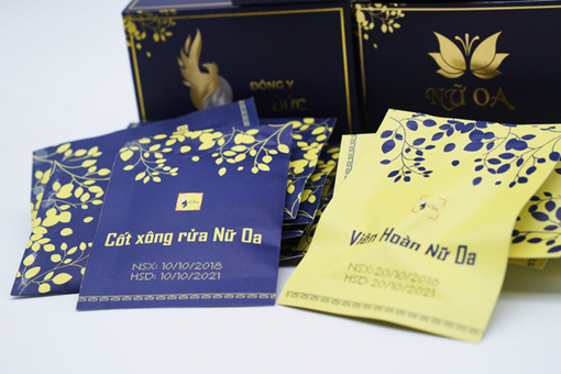 Đông y Vũ Đức quảng cáo sản phẩm Phụ khoa Nữ Oa lừa dối khách hàng?