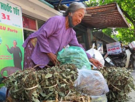 Làng bán thảo dược Việt Nam nổi tiếng nhất xứ Huế