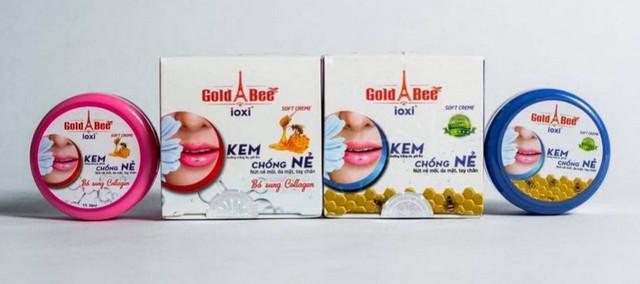 Không đạt tiêu chuẩn chất lượng, kem chống nẻ Gold Bee bị thu hồi
