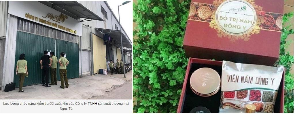Phát hiện hàng ngàn sản phẩm đông y làm đẹp dởm ở Hà Nội