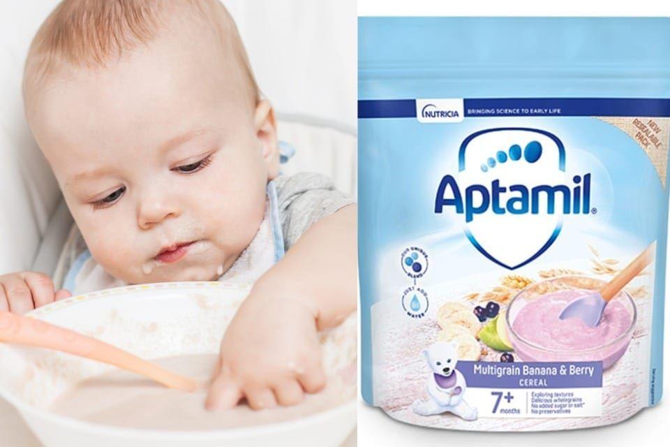 Thu hồi: Cục An toàn thực phẩm thông tin về bột ngũ cốc Aptamil Multigrain Banana and Berry Cereal