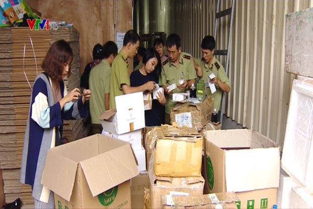 Phát hiện hàng chục nghìn sản phẩm mỹ phẩm không rõ nguồn gốc của Công ty TNHH Thiên Nhiên Việt Nam