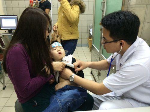 Các vấn đề về hô hấp ở trẻ em