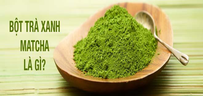 Bột trà xanh matcha được gọi là siêu thực phẩm tốt nhất năm 2016