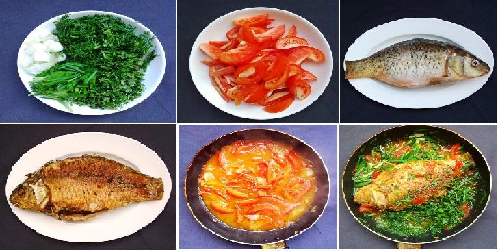 Hướng dẫn cách làm Cá chép sốt cà chua nóng hổi ngon cơm
