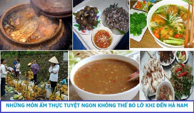 Những món ngon không thể bỏ qua khi đến Hà Nam