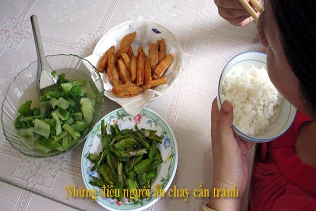 Những điều người ăn chay cần tránh, phần đông số người ăn chay đều phạm các lỗi này.