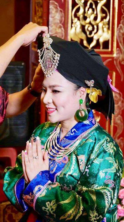 Nữ hoàng văn hóa tâm linh là một khái niệm được lắp ghép rất ẩu,