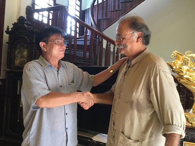 Ông lang Nho chữa bệnh ung thư cho bác sỹ, tiến sỹ Dược học người Pháp -  Fressy Benharoon