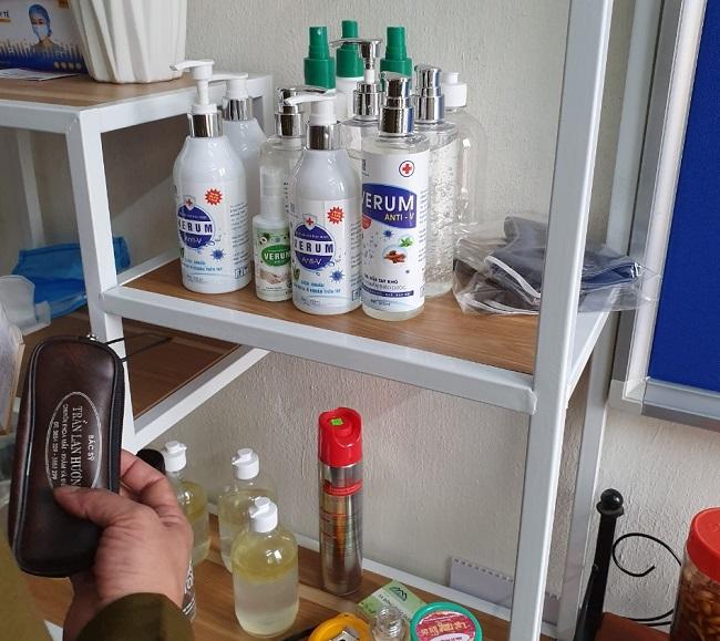 Công ty Minh Trí Hải Thịnh sản xuất nước sát khuẩn giả bị khởi tố hình sự