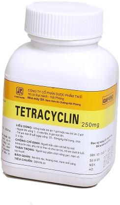 Thanh Hóa: Thu hồi lô thuốc viên nén Tetracyclin TW3 giả trả lại nhà cung ứng