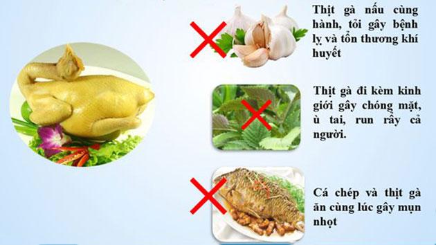 Sống khỏe mỗi ngày: Những món ăn 'không đội trời chung' với nhau