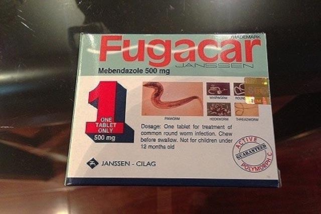 Thông báo về thuốc giả Fugacar