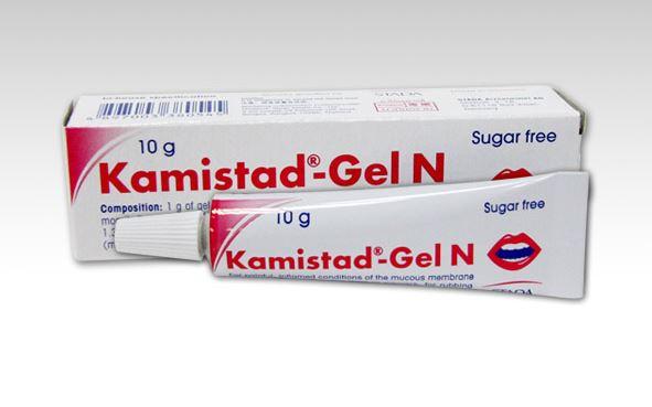 Công dụng, tác dụng của thuốc Kamistad-Gel N