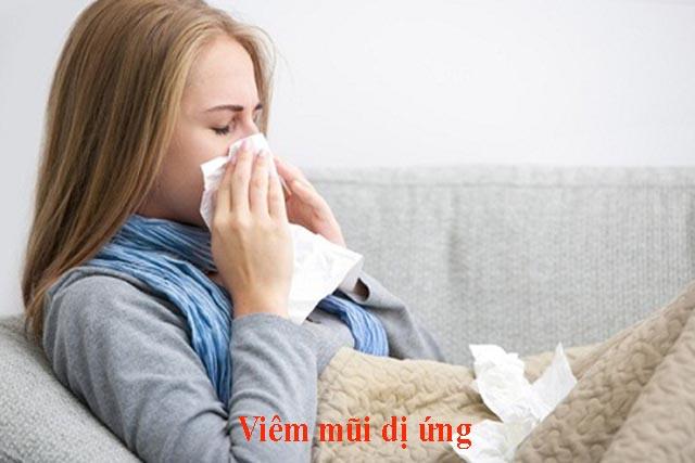 Bài thuốc nam điều trị bệnh viêm mũi dị ứng